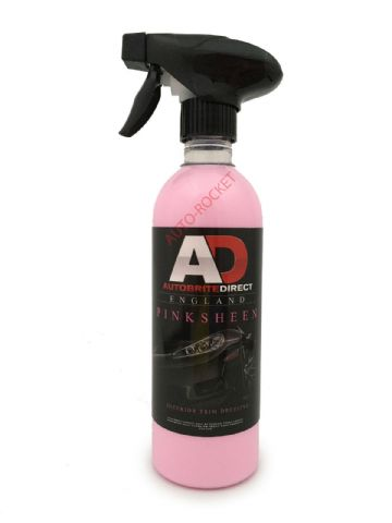 Autobrite Direct - Pink Sheen for All Interior Trim - Cleans, Polishes & Dresses